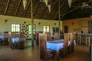 Restaurant Morona Hill Lodge with stunning view
